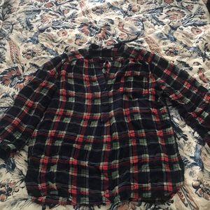 Plaid Market & Spruce shirt